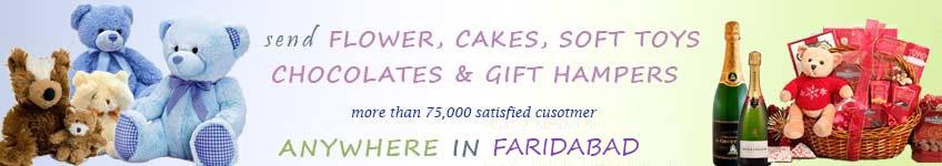 Send to Faridabad
